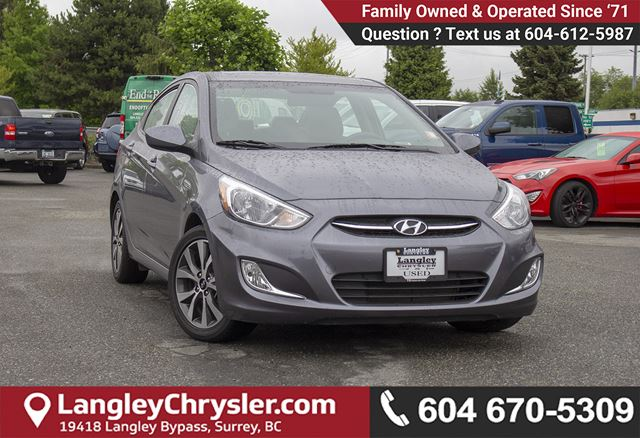 2017 HYUNDAI ACCENT SE in Surrey, British Columbia
