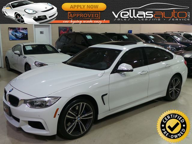 2016 BMW 435i xDrive Gran Coupe M PERFORMANCE PKG| 4DR| HUD| ADAPTIVE LED in Vaughan, Ontario