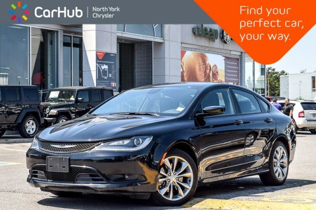 2015 CHRYSLER 200 S AWD KeylessGo HeatFrntSeats Sat.Radio Bluetooth 18Alloys  in Thornhill, Ontario