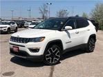 2017 Jeep Compass LIMITED**LEATHER**NAVIGATION**BLUETOOTH** in Mississauga, Ontario