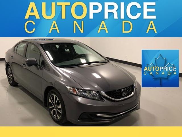 2014 HONDA CIVIC EX MOONROOF REAR CAM ALLOYS in Mississauga, Ontario