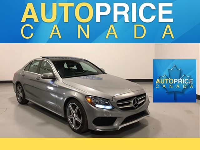 2015 MERCEDES-BENZ C-CLASS C300 4MATIC NAVIGATION PANOROOF in Mississauga, Ontario