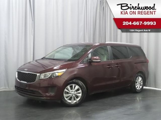 2018 KIA SEDONA LX **Extra Long Weekend Sale** in Winnipeg, Manitoba