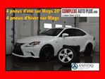 2014 Lexus IS 250 F-Sport Premium Pack AWD *Navi/GPS, Mags 20po. in Saint-Jerome, Quebec