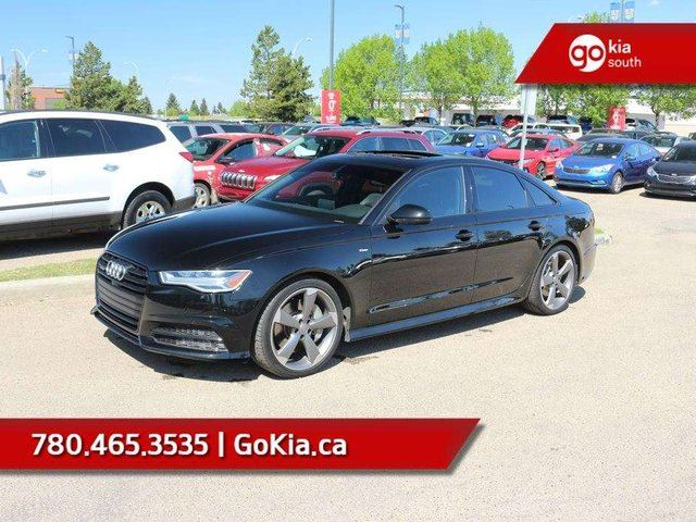 2016 AUDI A6 3.0T Technik! Black Optiks pckg.!!! FULL LOAD! 3.0L SUPERCHARGED V6!!! in Edmonton, Alberta