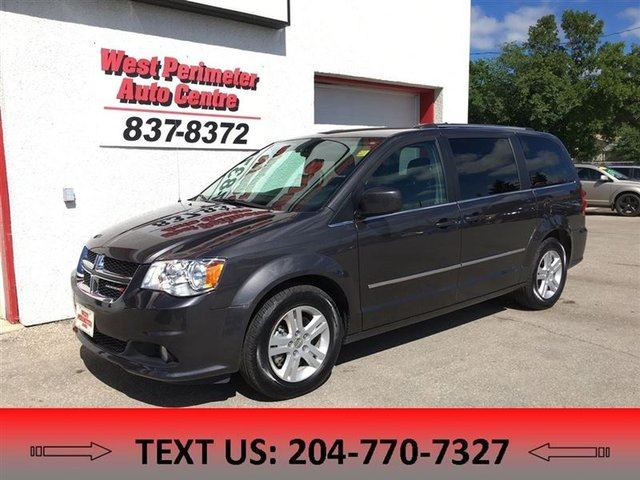 2017 DODGE GRAND CARAVAN Crew StowNGo, Power equipment in Winnipeg, Manitoba