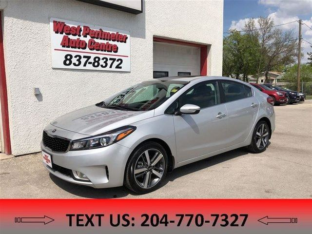 2017 KIA FORTE EX HEATED SEATS, BACKUP CAM, BLUETOOTH in Winnipeg, Manitoba