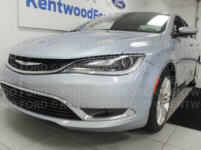 2015 CHRYSLER 200 Limited 200 with heated power leather seat, heated steering wheel and a back up cam in Edmonton, Alberta