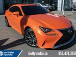 2017 Lexus RC 350 FSPORT/BSM/SENSORS/LEATHER/SUNROOF in Edmonton, Alberta