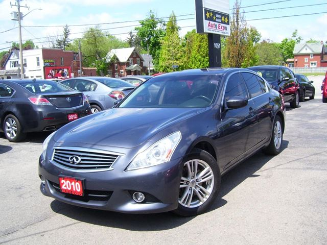 2010 INFINITI G37 x Sport,AWD,Backup camera,Leather,Sunroof in Kitchener, Ontario