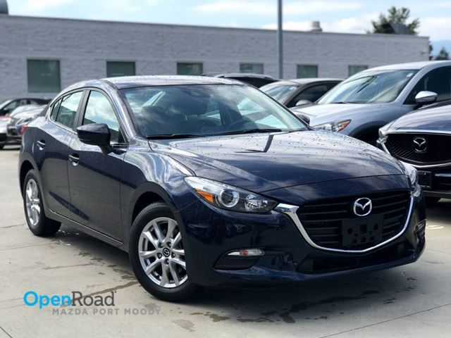 2017 MAZDA MAZDA3 GS Sdn A/T No Accident Local One Owner Bluetoot in Port Moody, British Columbia