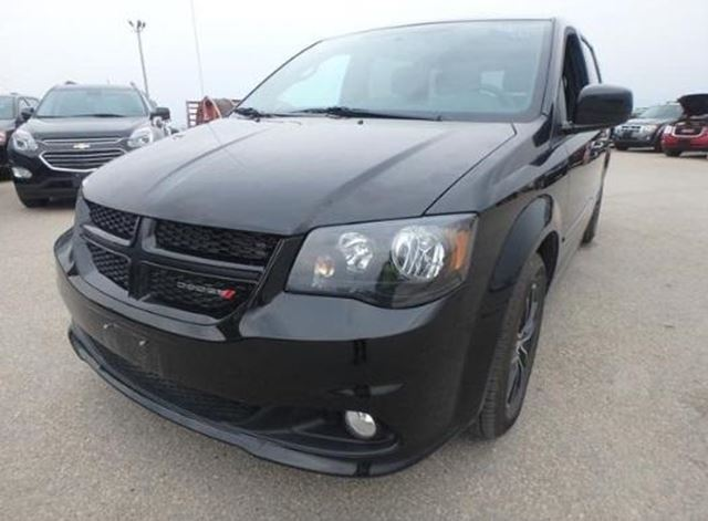 2017 DODGE GRAND CARAVAN SXT Black Top Ed. in Winnipeg, Manitoba