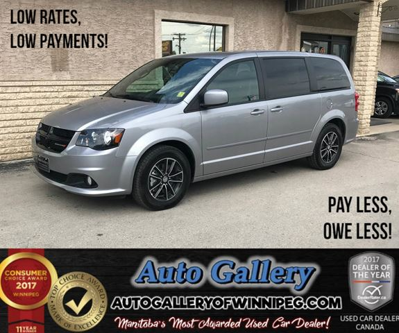 2017 DODGE GRAND CARAVAN SXT Premium Plus in Winnipeg, Manitoba