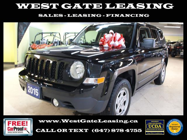 2015 JEEP PATRIOT SPORT 4WD  AUTOMATIC   in Vaughan, Ontario
