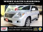 2009 Lexus LX 570 ULTRA PREMIUM  NAVI  CAMERA  BLIND SPOTS  DVD  in Vaughan, Ontario