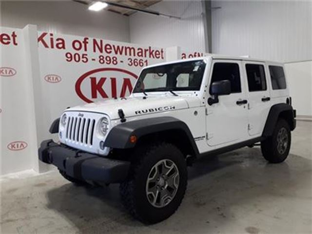 2017 JEEP WRANGLER Unlimited Rubicon in Newmarket, Ontario