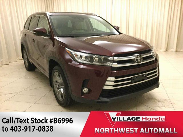 2017 Toyota Highlander Limited AWD in Calgary, Alberta