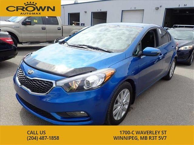 2015 KIA FORTE LX+ **Alloy rims** Fog Lights** Bluetooth** Heated in Winnipeg, Manitoba
