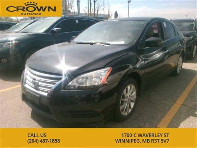 2013 NISSAN SENTRA SV **Luxury Package** Power Sunroof** Alloy Rims** in Winnipeg, Manitoba