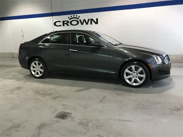 2014 CADILLAC ATS Luxury AWD Turbo **Heated Leather Seats** Dual Exh in Winnipeg, Manitoba