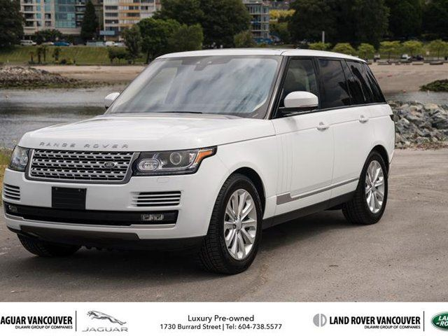 2017 LAND ROVER RANGE ROVER V6 HSE Diesel in Vancouver, British Columbia
