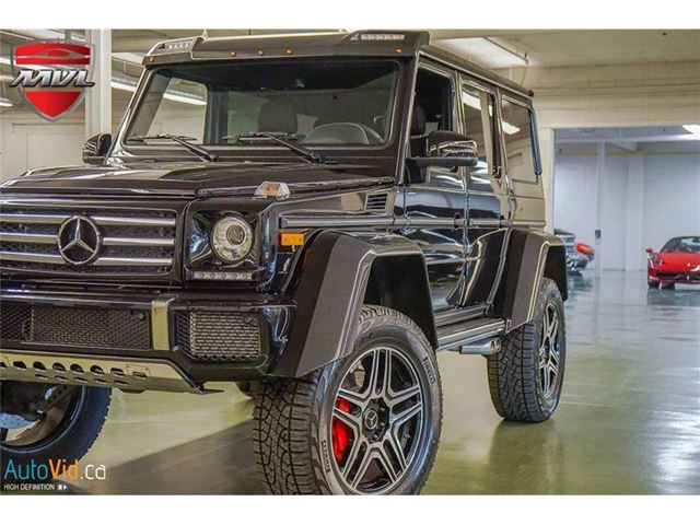 2018 MERCEDES-BENZ G-CLASS G550 4x4 Squared -LEASE ONLY- in Oakville, Ontario