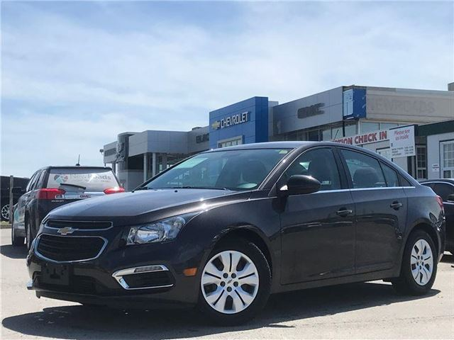 2015 CHEVROLET CRUZE LT 1LT, BACKUP CAMERA, ONE OWNER, NO ACCIDENTS in Newmarket, Ontario
