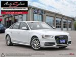 2015 Audi A4 Quattro AWD ONLY 33K! **S-LINE** SPORT PKG **CLN CARPROOF* in Scarborough, Ontario