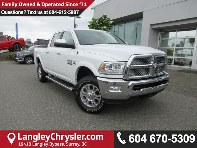 2017 DODGE RAM 3500 Laramie in Surrey, British Columbia