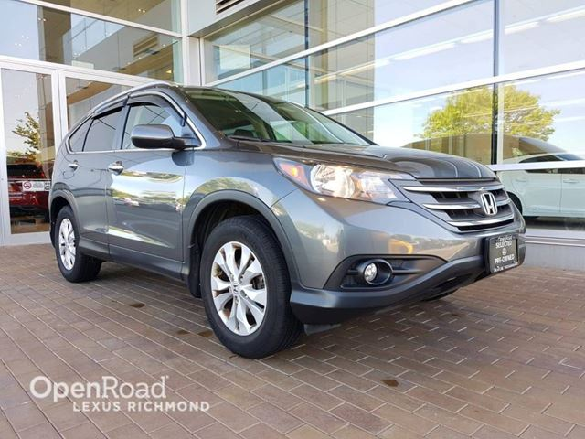 2012 HONDA CR-V Touring Pkg /Leather / Real Time AWD system in Richmond, British Columbia