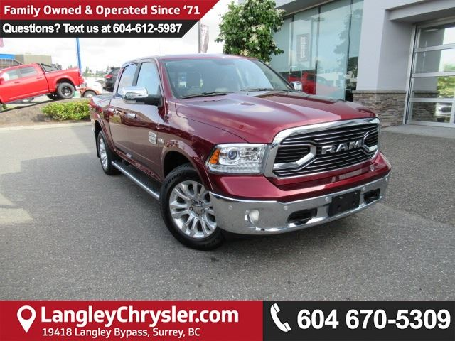 2017 DODGE RAM 1500 Longhorn in Surrey, British Columbia