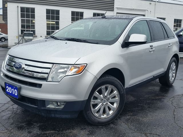 2010 Ford Edge SEL,ALL WHEEL DRIVE,CHROME WHEELS,PANORAMIC SUNROOF in Dunnville, Ontario