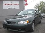 2001 Toyota Corolla 2001 Toyota Corolla, 2 SETS OF TIRES, 12 M WRTY+SAFETY $2990 in Ottawa, Ontario