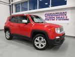 2017 Jeep Renegade LIMITED 4X4, NAV, LEATHER, BT, CAMERA, 17K! in Stittsville, Ontario