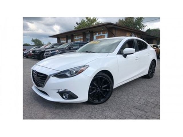 2014 MAZDA MAZDA3 GT-SKY MOON ROOF NAV LEATHER REARVIEW CAMERA in St Catharines, Ontario