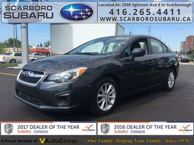 2014 SUBARU IMPREZA 2.0i Touring PKG,  FROM 1.9% FINANCING AVAILABLE in Scarborough, Ontario