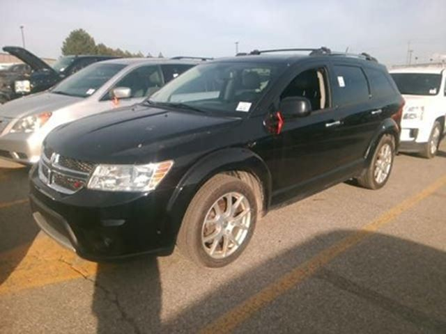 2016 DODGE JOURNEY R/T   ONE OWNER   LEATHER   AWD   7PASS in London, Ontario