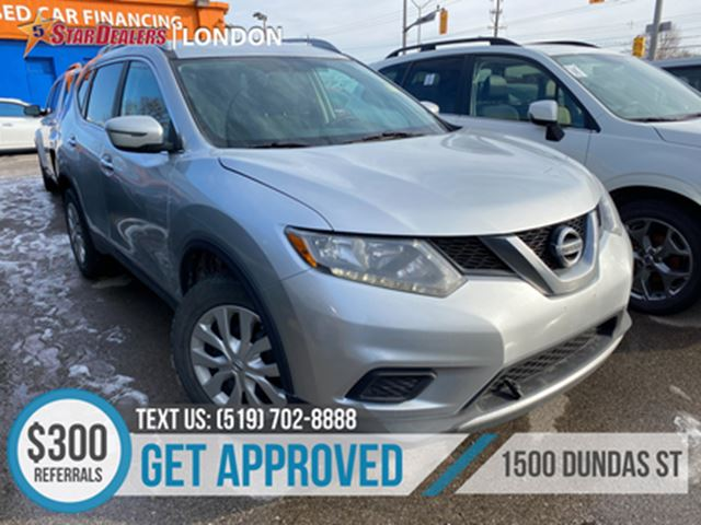 2016 NISSAN ROGUE S   AWD   CAM in London, Ontario