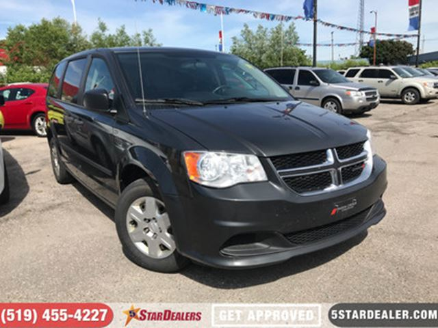 2012 DODGE GRAND CARAVAN SE   VAN LOANS APPROVED HERE in London, Ontario