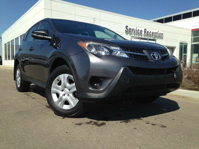 2014 TOYOTA RAV4 AWD LE Heated Seats, A/C, Cruise Control in Edmonton, Alberta