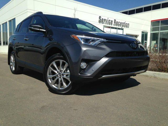 2016 TOYOTA RAV4 Limited Navigation, Backup Camera, Heated Seats in Edmonton, Alberta