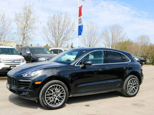 2015 PORSCHE MACAN S *IS THERE A BETTER PRICE THAN THIS* in Winnipeg, Manitoba