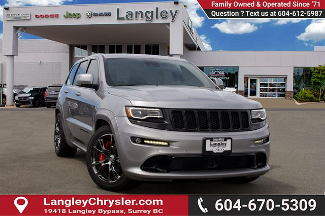 2016 JEEP GRAND CHEROKEE SRT in Surrey, British Columbia
