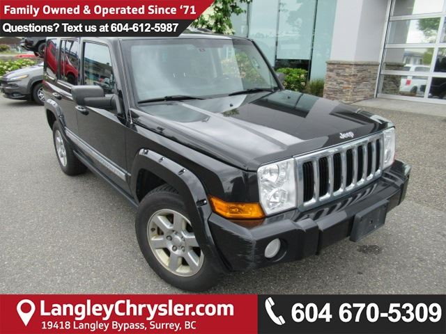 2008 JEEP COMMANDER Limited in Surrey, British Columbia