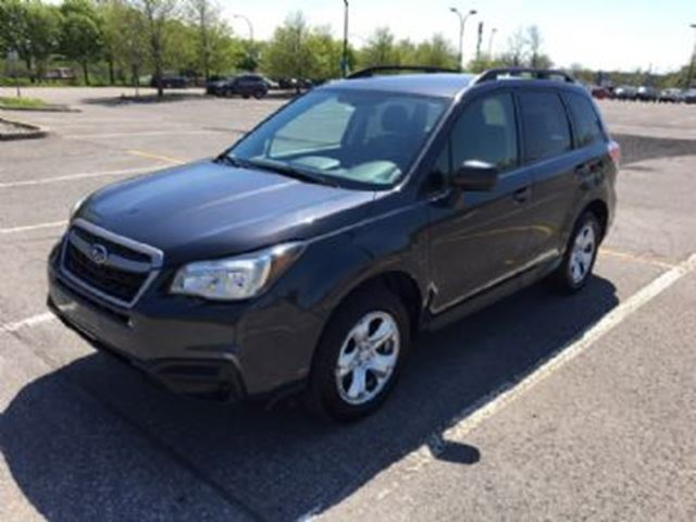 2017 SUBARU FORESTER 2.5i AWD, 6-Speed Manual in Mississauga, Ontario
