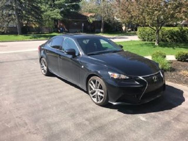 2016 LEXUS IS 300 F-SPORT-AWD -PROTECTION USURE in Mississauga, Ontario