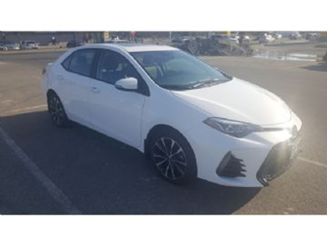2017 TOYOTA COROLLA 4dr Sdn CVT SE XSE Package in Mississauga, Ontario