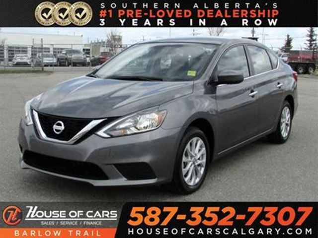 2017 NISSAN Sentra 1.8 SV / Sunroof / Back Up Camera in Calgary, Alberta