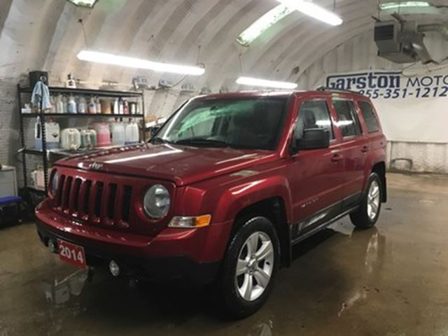 2014 JEEP PATRIOT NORTH*4WD*U CONNECT PHONE*KEYLESS ENTRY*POWER WIND in Cambridge, Ontario