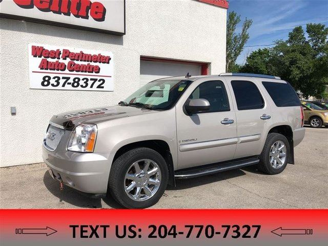2008 GMC YUKON Denali, AWD, LOADED in Winnipeg, Manitoba